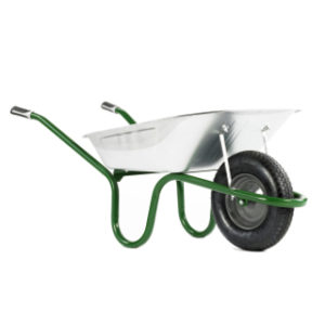 GALVANISED TRAY WHEELBARROW