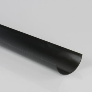 2 m 112 mm GUTTER BLACK BRETT MARTIN