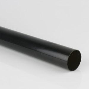 2.5 m 68 mm DOWNPIPE BLACK BRETT MARTIN