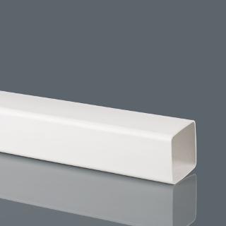 2.5mt. 65mm WHITE DOWN PIPE BRETT MARTIN