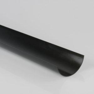 4 m 112 mm GUTTER BLACK BRETT MARTIN