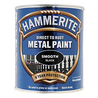2.5lt SMOOTH BLACK HAMMERITE