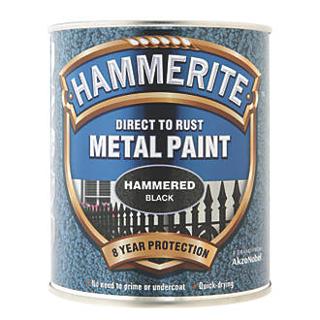 250ml HAMMERED BLACK HAMMERITE