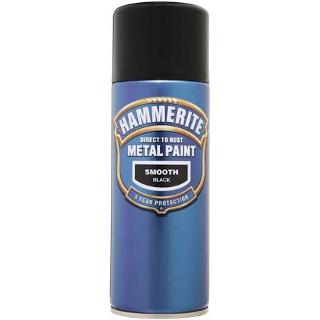 400ml SMOOTH BLACK AEROSOL HAMMERITE