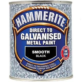 750ml BLACK DIRECT TO GALV HAMMERITE