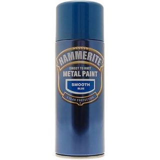400ml SMOOTH BLUE AEROSOL HAMMERITE