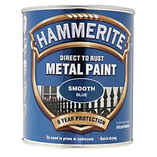 750ml SMOOTH BLUE HAMMERITE