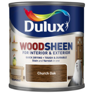 250ml CHURCH OAK WOODSHEEN DULUX