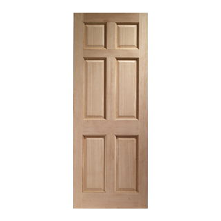762 x 1981mm COLONIAL RED HARDWOOD XL JOINERY DOOR