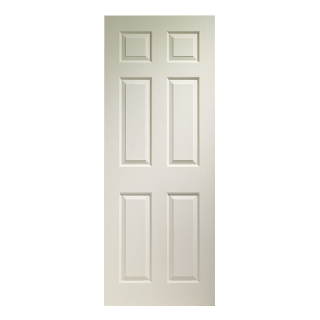 813mm X 2032mm WHITE COLONIST DOOR