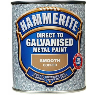 750ml COPPER DIRECT TO GALV HAMMERITE