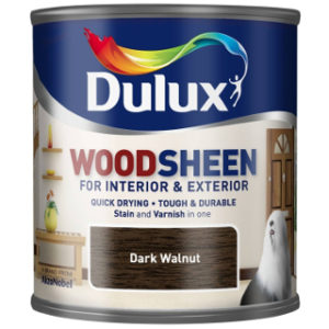 250ml DARK WALNUT WOODSHEEN DULUX
