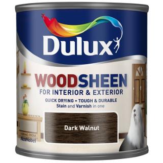 250ml DARK WALNUT WOODSHEEN DULUX
