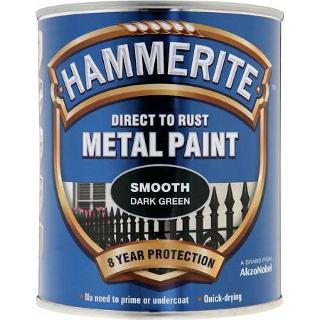 250ml SMOOTH DARK GREEN HAMMERITE