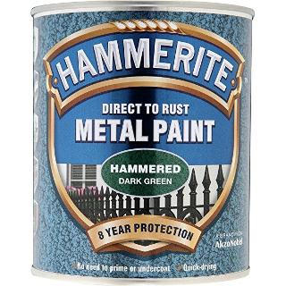 250ml HAMMERED DARK GREEN HAMMERITE