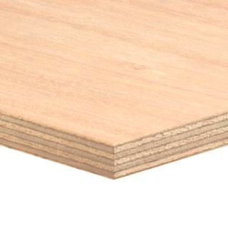 1523mm x 1220mm 3.6/4mm EXTERIOR PLYWOOD