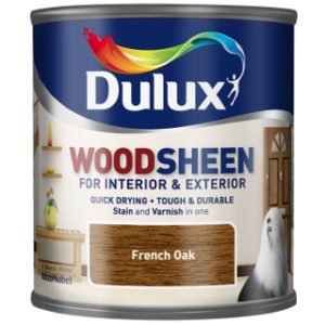 250ml FRENCH OAK WOODSHEEN DULUX