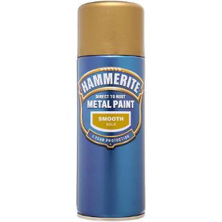 400ml SMOOTH GOLD AEROSOL HAMMERITE