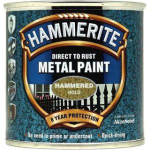 250ml HAMMERED GOLD HAMMERITE