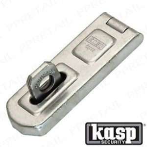 100mm UNI.HASP & STAPLE KASP SECURITY
