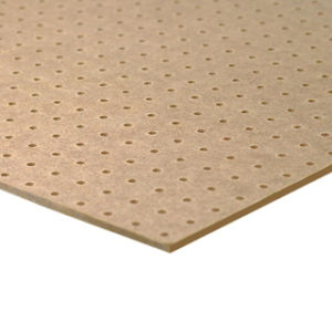 2440mm x 1220mm 3.2mm PERFORATED HARDBOARD