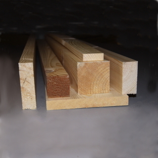 125 x 50mm PLANED TIMBER