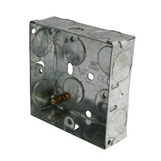 1 GANG 25MM METAL BOX