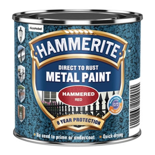 250ml HAMMERED RED HAMMERITE