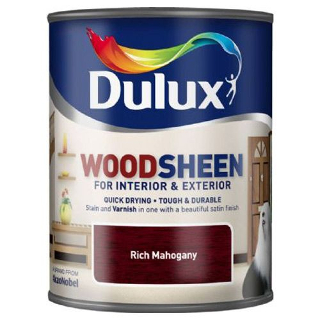 750ml RICH MAHOGANY WOODSHEEN DULUX