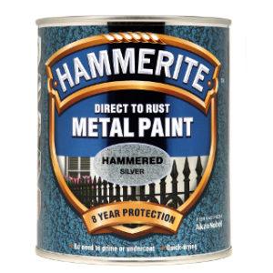 250ml HAMMERED SILVER HAMMERITE