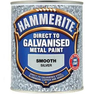 750ml SILVER DIRECT TO GALV HAMMERITE
