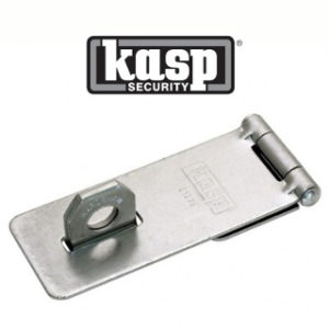 115mm TRAD.HASP & STAPLE KASP SECURITY