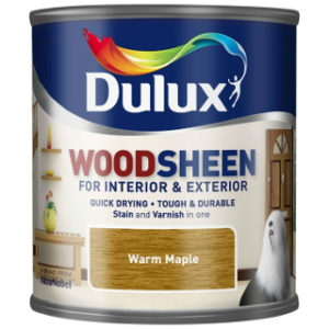250ml WARM MAPLE WOODSHEEN DULUX