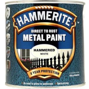 250 ml HAMMERED WHITE HAMMERITE