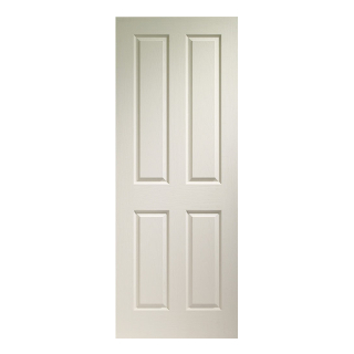 762 x 1981mm WHITE VICTORIAN DOOR