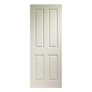 838 x 1981mm WHITE VICTORIAN DOOR