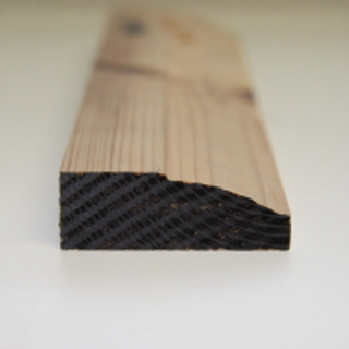 63 x 25mm PATTERN 7 SOFTWOOD MOULDING