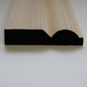 75 x 19mm PATTERN 25 SOFTWOOD MOULDING