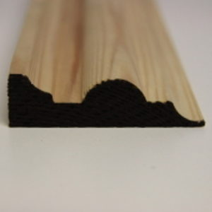 75 x 25mm PATTERN 113 SOFTWOOD MOULDING