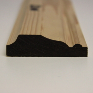 75 x 25mm PATTERN 117 SOFTWOOD MOULDING