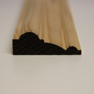 63 x 25mm PATTERN 127 SOFTWOOD MOULDING