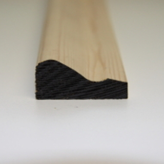 50 x 25mm PATTERN 146 SOFTWOOD MOULDING