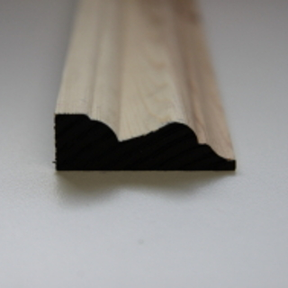 50 x 19mm PATTERN 157 SOFTWOOD MOULDING