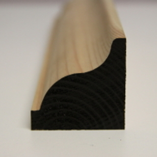 50 x 50mm PATTERN 186 SOFTWOOD MOULDING