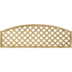 280/425 x 1830mm HILLSIDE CONVEX DIAMOND TRELLIS