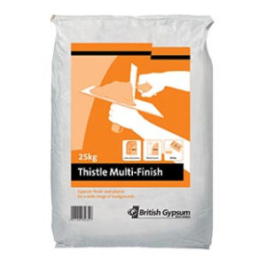 25kg THISTLE MULTI-FINISH PLASTER