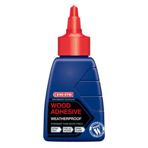 EVO-STICK 125ml RESIN W WEATHERPROOF EXTERIOR WOOD ADHESIVE