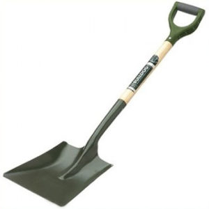 OPEN SOCKET GARDEN SHOVEL BULLDOG TOOL