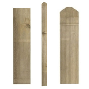 1.5mt PATRICE SQUARE NEWEL POST