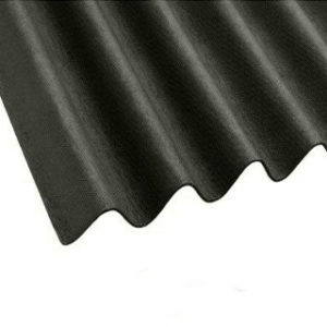 2mt x 950mm BLACK BITUMEN ROOFING